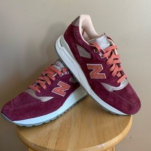 New Balance 998 Perforated Suede